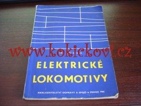 Elektrické lokomotivy - ing. Jiří Rydlo - nadas 1966 - A5 - 110 stran