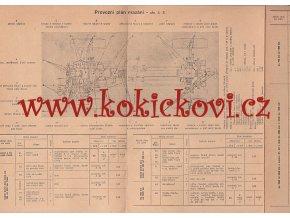 Tatra 805 plán mazání a pokyny pro nejnutnější obsluhu 1953