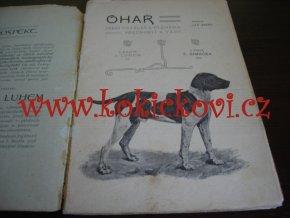 Ohař: Jeho ustálená plemena, přednosti a vady - Jan Seidl - 1901