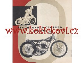 MOTOCYKL ESO DT 5 1961 PROSPEKT KOVOPODNIK BENEŠOV MOTOKOV GERMAN EDITION NĚMECKY