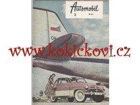 ČASOPIS AUTOMOBIL ČÍSLO 2/1959 - 1 KOMPLETNÍ ZACHOVALÉ ČÍSLO
