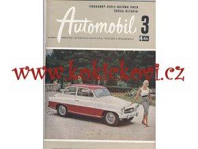 ČASOPIS AUTOMOBIL ČÍSLO 3/1959 - 1 KOMPLETNÍ ZACHOVALÉ ČÍSLO
