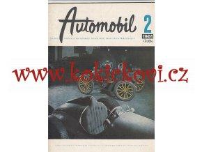 ČASOPIS AUTOMOBIL ČÍSLO 2/1961 - 1 KOMPLETNÍ ZACHOVALÉ ČÍSLO