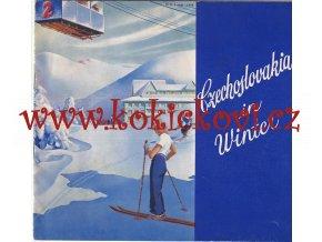 REKLAMNÍ PUBLIKACE CZECHOSLOVAKIA IN WINTER - 1936 - HLUBOTISKOVÉ FOTOGRAFIE