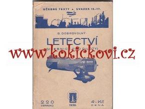 Letectví - učebnice pro piloty - 1938 - DOBROVOLNÝ