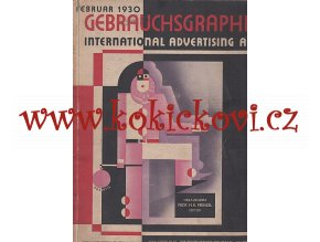 Gebrauchsgraphik International Advertising Art Februar 1930 - REYNALDO LUZA - STUDIE