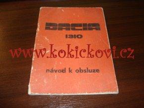 Dacia 1310 - návod k obsluze