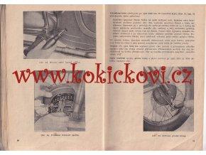 JAWA-ČZ 250/353, 350/354 - 1954 - technický popis, jízdní návod