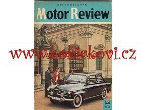 CZECHOSLOVAK Motor - Revue - 1957 - Škoda, Tatra, Praga - PROSPEKTOVÝ KATALOG VOZIDEL