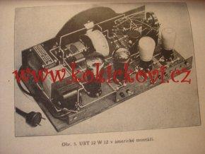 Ultraselektor 32W12 Selektivní síťová třílampovka - Moderní hudební nástroj Radio Melezinek 1933