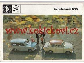 Trabant 601 - 1970 - prospekt - 16 STRAN - A4
