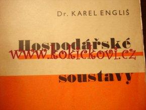 Hospodářské soustavy - Dr. Karel Engliš