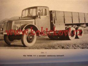 TATRA 111 - PŘIRUČKA PRO ŘIDIČE VOZU - 1951 - A5 - 192 STRAN