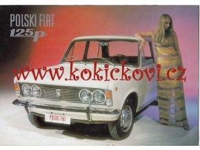 POLSKI FIAT 125 p - reklamní prospekt A4 - 16 stran
