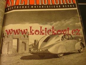 SVĚT MOTORŮ 1952 A ČASOPIS MOTOCYKL 1952 - PELMEL 14 ČÍSEL - JAWA 250 - TATRA 87 - ZIKMUND HANZELKA