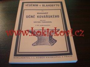 Rukověť učně kovářského - 1926 - REPRINT KNIHY