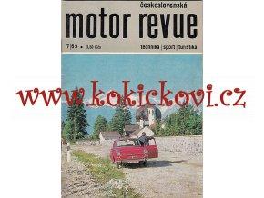 MOTOR REVUE 7/1969 - A5 - 40 STRAN TEXTY ČESKY