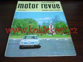MOTOR REVUE 5/1971 - A5 - 40 STRAN TEXTY ČESKY - ŠKODA 110 ČLÁNEK