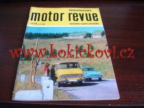 Československá motor revue - 11/1970 - Škoda, Jikov - ČESKY