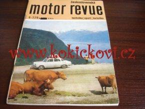 Československá motor revue - 7/1970 - ČESKY