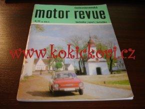 Československá motor revue - 4/1971 - ČESKY