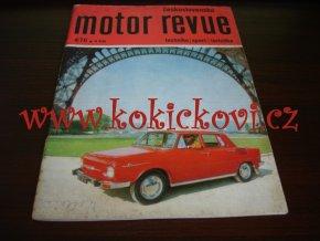 Československá motor revue - 4/1970 - ČESKY