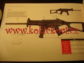 Heckler & Koch - katalog zbraní - pistole - automatické pušky - 2016
