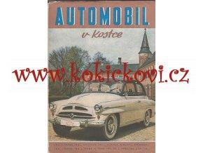 Automobil v kostce - 1955 - TATRA - MERCEDES - VW - ŠKODA