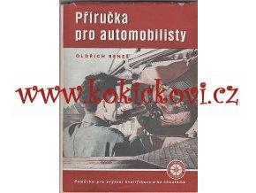Příručka pro automobilisty - 1954
