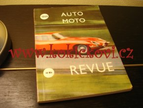 AUTOMOTO-REVUE 1968 - MILOŠ KOVÁŘÍK - A5 - 160 STRAN - PĚKNÝ STAV