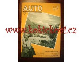 ČASOPIS AUTO ČÍSLO 8/1936 TISK MELANTRICH - AUTOKLUB REPUBLIKY ČESKOSLOVENSKÉ - AERO 30