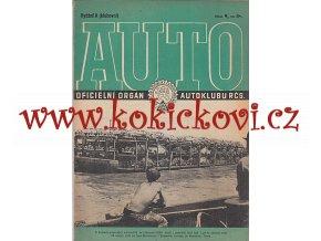 AUTO - ČASOPIS ČS. MOTORISTŮ ČÍSLO A9 ZÁŘÍ 1946