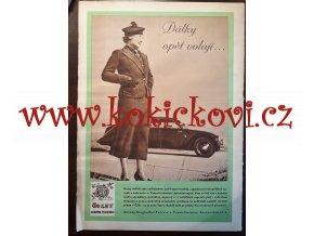 ČASOPIS AUTO ČÍSLO 24/1937 TISK MELANTRICH - AUTOKLUB REPUBLIKY ČESKOSLOVENSKÉ
