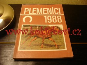 PLEMENÍCI 1988 - KATALOG - A5 - 136 stran - stav viz popisek