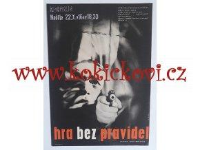 FILMOVÝ PLAKÁT A3 - HRA BEZ PRAVIDEL