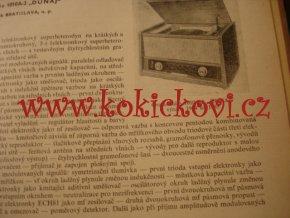 Československé rozhlasové a televizní přijímače 1960-1964 - II.