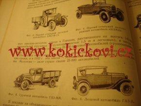 AUTOMOBIL MOSKVA 1951 - MAJETNICKÝ PODPIS VLADIMÍR VÁŠA АБТОМОБИЛЬ МОСКБА