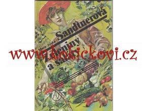 JANKŮ-SANDTNEROVÁ, Marie: Zeleniny a saláty  - 1991 - 85 str.