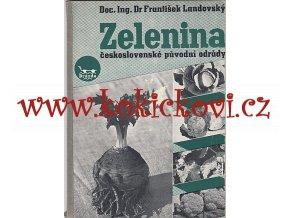 Zelenina - československé původní odrůdy Landovský