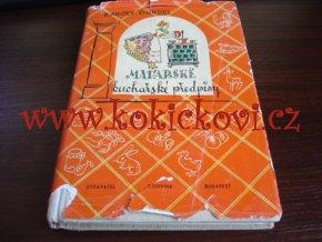 Gundel, Károly - Maďarské kuchařské předpisy