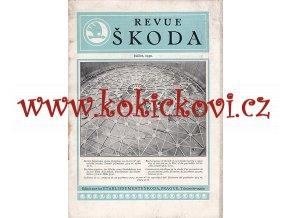 REVUE ŠKODA 1930 - PLYNOJEM - MĚSTSKÁ PLYNÁRNA MLADÁ BOLESLAV