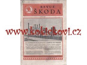 REVUE ŠKODA 1930 - PRVNÍ ELEKTRICKÁ CENTRÁLA 10.000 kW PERNIK BULHARSKO