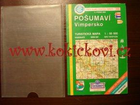 POŠUMAVÍ - VIMPERSKO MAPA turistická mapa, 1 : 50 000