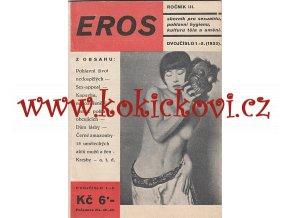 EROS 1933 Sborník pro sexualitu, pohlavní hygienu, kulturu těla a umění  dvojčíslo: 1-2