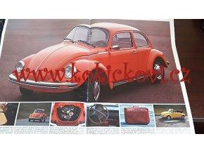Prospekt VW Programm - Brouk - Golf, Scirocco, K 70, 1200, 1303, Passat, 8.1974