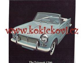 TRIUMPH 1200 reklamní prospekt 4 strany 196? - anglicky