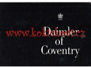 Daimler of Coventry - 1970 - prospekt