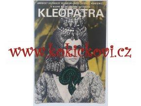 FILMOVÝ PLAKÁT A3 - KLEOPATRA - ELIZABETH TAYLOR -1966