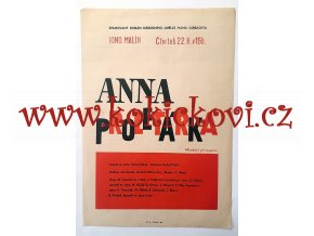 FILMOVÝ PLAKÁT A3 - ANNA PROLETÁŘKA