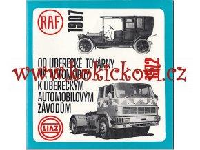 Od liberecké továrny na automobily k libereckým automobilovým závodům - 1907-1972